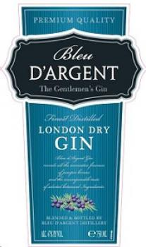 Bleu Dargent - London Dry Gin